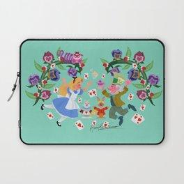 Wonderland Wallpainting Laptop Sleeve