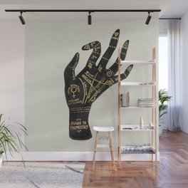 Palmistry Wall Mural