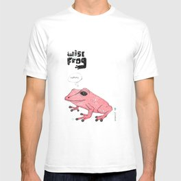 wise frog  T-shirt