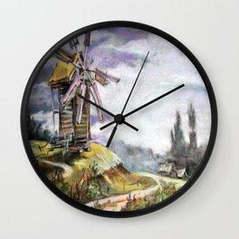 Old mill Wall Clock
