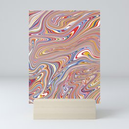 *SWIRL_COMPOSITION_4 Mini Art Print