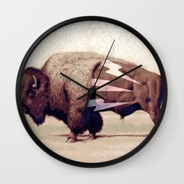 IN CHARGE Wall Clock