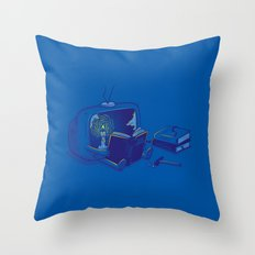 Rethink yourself Throw Pillow