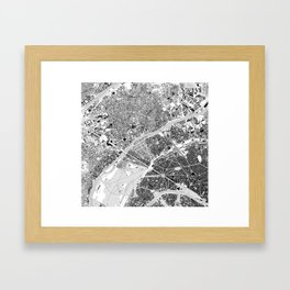 paris lhs-top Framed Art Print