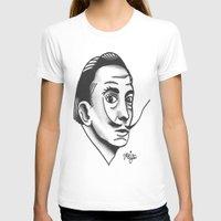 dali T-shirts featuring Dali by @VEIGATATTOOER