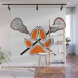 Palmetto State Foxes Exy Crest Wall Mural