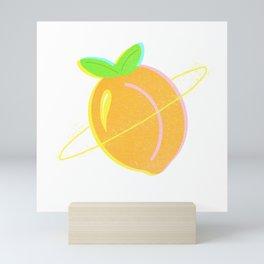 Planetary Peach Mini Art Print