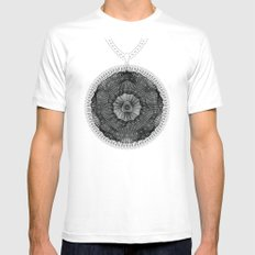 Spirobling XXIII MEDIUM Mens Fitted Tee White