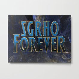 SGRho Forever Metal Print