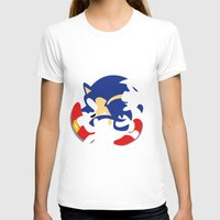 sonic T-shirts featuring Sonic by JHTY