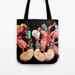 Slaughter Sausages Tote Bag