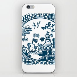 Classic Blue Willow iPhone Skin