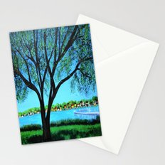 Lakeside view  Stationery Cards