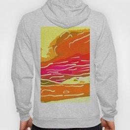 abstract style aurora borealis absstdi Hoody