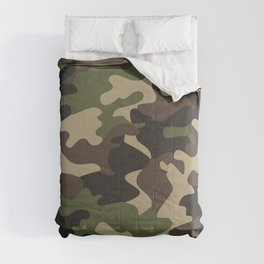 Military camouflage Comforters