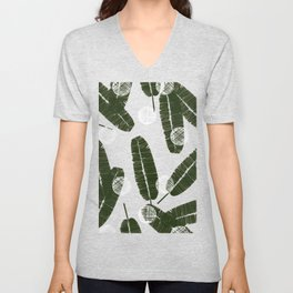 Palms & Dots #society6 #decor #buyart Unisex V-Neck