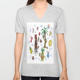 Cocktail Cannibalism Unisex V-Neck