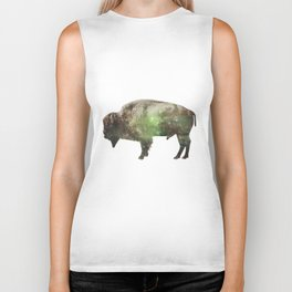 Surreal Buffalo Biker Tank