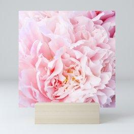 Peony Flower Photography, Pink Peony Floral Art Print Nursery Decor A happy life - Peonies 3 Mini Art Print