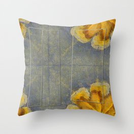 Unworminess Design Flowers  ID:16165-110353-84671 Throw Pillow