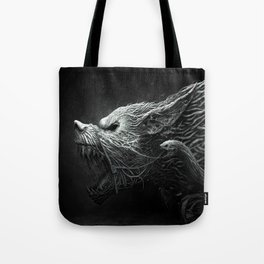 Wolf Monster Tote Bag