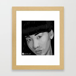 Yehlow chyna Framed Art Print