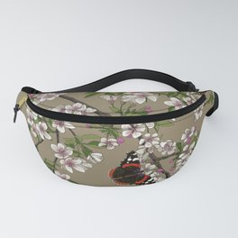 Blossoms and Butterflies Fanny Pack