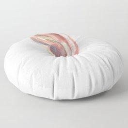 A listener - ear Floor Pillow