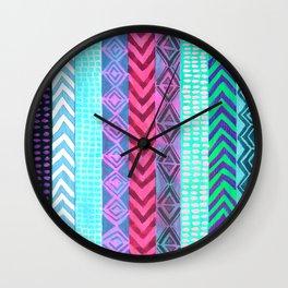 Tribal Pattern 04 Wall Clock