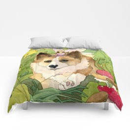 The Faerie and the Welsh Corgi Comforters