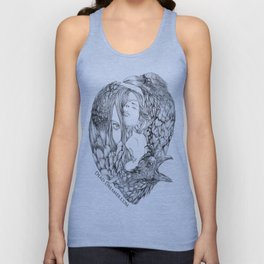 To Dream is to Die - Line Unisex Tank Top