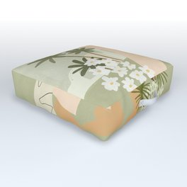 Love Conquers All Outdoor Floor Cushion