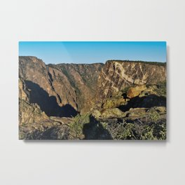 Painted Wall - Black Canyon of the Gunnison Metal Print