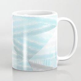 Blue lines 2 Coffee Mug