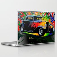 ford Laptop & iPad Skins featuring 32 Ford by JT Digital Art
