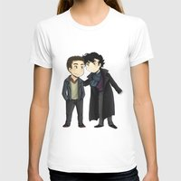 johnlock T-shirts featuring Johnlock by agartaart