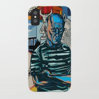 picasso iPhone & iPod Cases featuring Picasso by Nicolae Negura