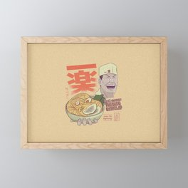 Ichiraku Ramen v3 Framed Mini Art Print