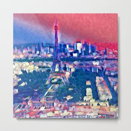 Impressive Travel - Paris Metal Print