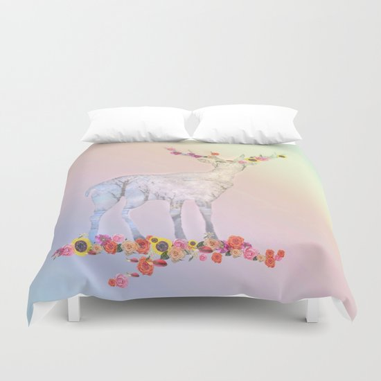 Poetry pic Duvet Cover