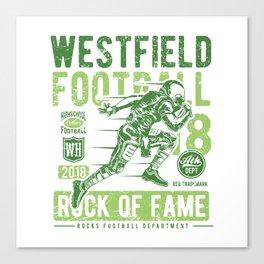 Westfield HS Football Canvas Print