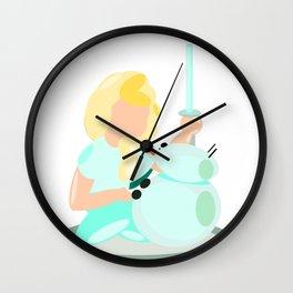 Frozen Wars Wall Clock
