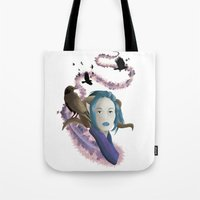 Crow Call Tote Bag