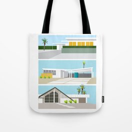mid-centery house one, three, four Tote Bag
