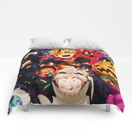 halloween boruto Comforters