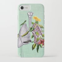 lungs iPhone & iPod Cases featuring Lungs by Tyler Varsell