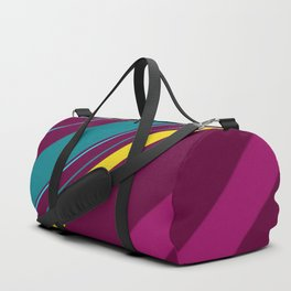 Full of cheer and colors stripes Duffle Bag