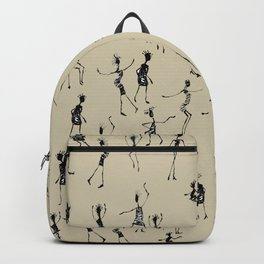 stick people in action Backpack