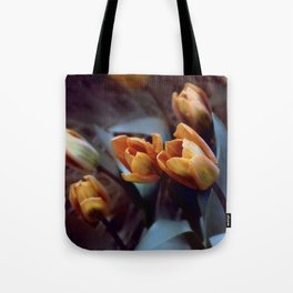 Tulips with Attitude Tote Bag