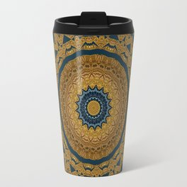 Mandala Divine Eye Travel Mug